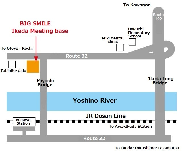 Koboke full-day Adrenaline Rafting access map