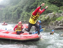 Not only big wave! Let's enjoy the whole Hozu river!!