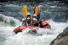 Hozu River rafting torrent