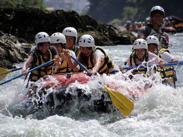 Go rafting together.