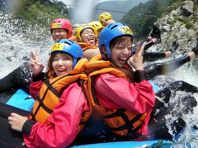 Enjoy rafting with various form