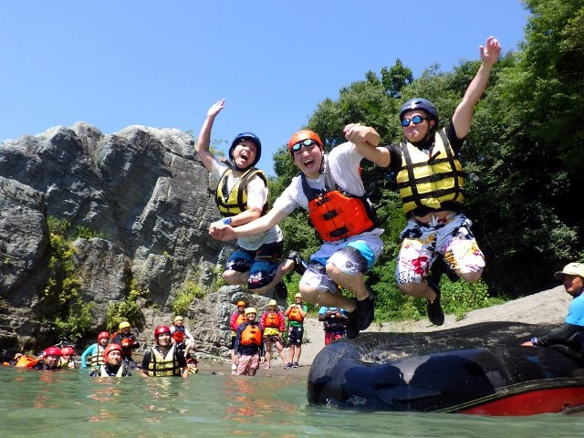 Enjoy your rafting with full smile