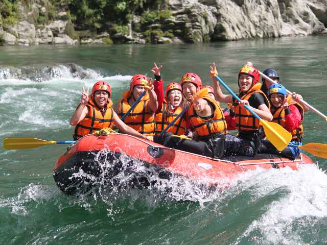 Kochi Yoshino River Half-day Rafting