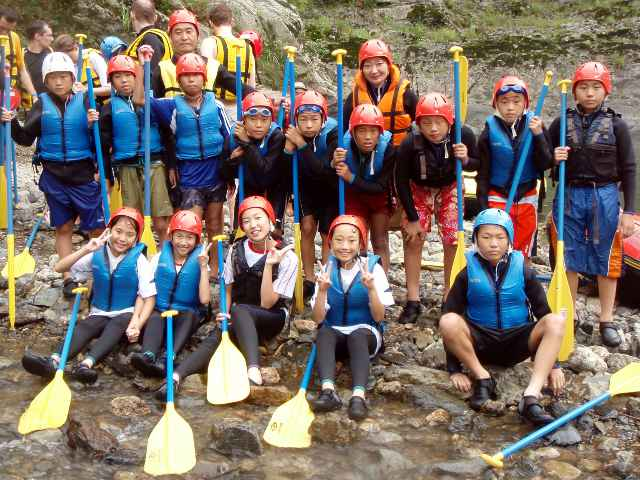Kochi Yoshino River Family Rafting
