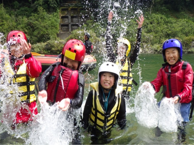 Have a nice rafting time