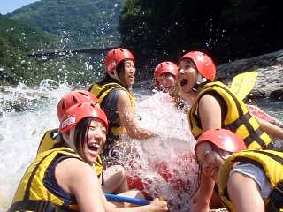 Hozu Halfday Rafting