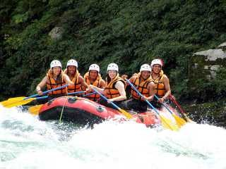 Yoshino halfday Rafting in Kochi