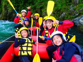 Yoshino Family Rafting