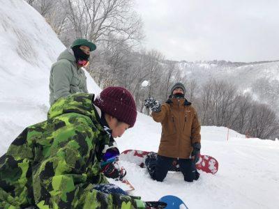 スキー場業務!!