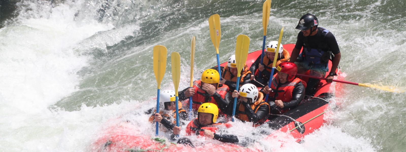 日本一の激流吉野川